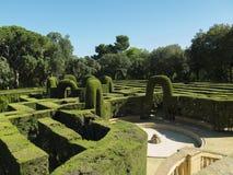 English labyrinth Stock Photography
