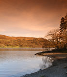 English Lake District. Coniston water. One the many Lakes within England's Lake District in Cumbria Royalty Free Stock Photography