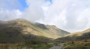 English Lake District Cumbria mountain landscape Royalty Free Stock Images