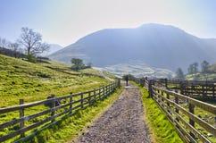 English Lake District Park Royalty Free Stock Photo
