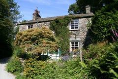 English Lakeland Stone Cottage. Royalty Free Stock Images