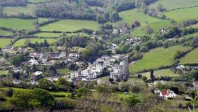 English Landscape. Combe Martin in Devon Royalty Free Stock Image