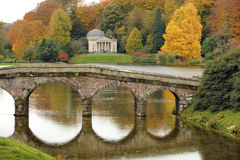 English landscape garden Royalty Free Stock Image