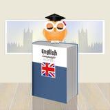 English language course. Illustration of English language course Royalty Free Stock Image