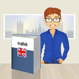 English language course Royalty Free Stock Images