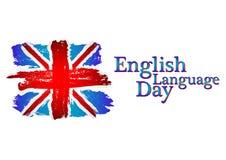 English language day Royalty Free Stock Photos
