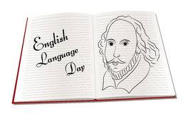 English language day Stock Photo