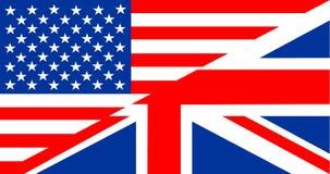 English language flag Royalty Free Stock Photo