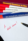 English language learning Royalty Free Stock Images