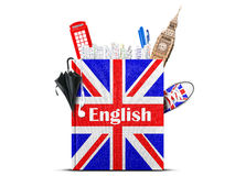 English language Stock Photo