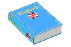 English language textbook. 3D rendering Stock Image