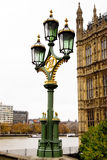 English lantern Royalty Free Stock Photos