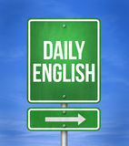 Daily English. Learn english language Royalty Free Stock Images