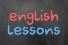 English lessons Stock Photos