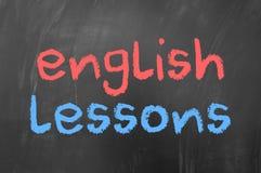 English lessons Stock Photos