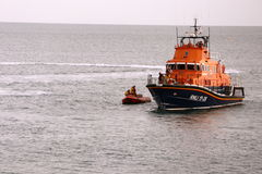 English Lifeboat Royalty Free Stock Photography