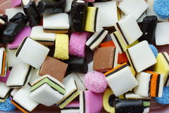 English liquorice Stock Images