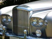 English Luxury Car Hood stock images