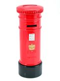 English Mailbox. Souvenir representing an english mailbox. Travel gift Royalty Free Stock Photography