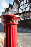 English mailbox. Stock Photography