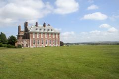 English Mansion And Sky Stock Photos
