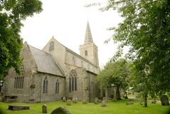 English medievil church. Royalty Free Stock Images