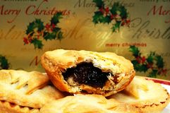 English mince pies. Stock Photography