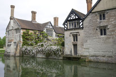 English Moated Manor House Royalty Free Stock Image