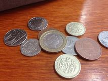 English Money, UK coins Stock Photo