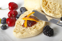 English Muffin Royalty Free Stock Photos