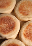 English Muffin Background Royalty Free Stock Photos