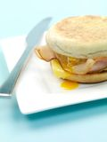 English Muffin Breakfast Royalty Free Stock Photography