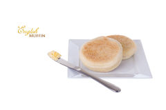 English Muffin Royalty Free Stock Photo