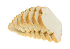 English muffin toasting bread slices Stock Photography