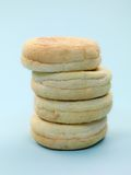 English Muffins Stock Image