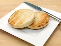 English Muffins Royalty Free Stock Photo