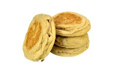 English muffins Royalty Free Stock Photography