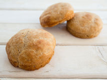 English muffins Royalty Free Stock Image