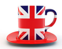 English mug Royalty Free Stock Images