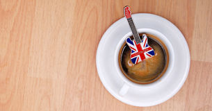 English  music espresso Royalty Free Stock Images