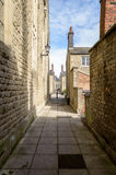 English Narrow Back Street Royalty Free Stock Photography