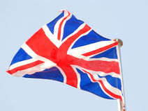 English National Flag Stock Photos