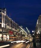 English night traffic Royalty Free Stock Image