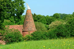Unusual English Oast house Royalty Free Stock Photo