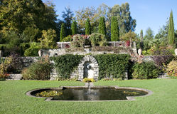 English Ornamental Garden Royalty Free Stock Photo