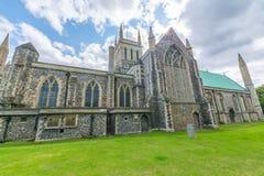 English parish church in Great Yarmouth - England. English parish church in Great Yarmouth - Built Structure, Church, East Anglia, England, Great Yarmouth royalty free stock photo