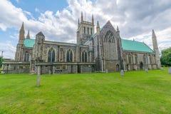 English parish church in Great Yarmouth - England. English parish church in Great Yarmouth - Built Structure, Church, East Anglia, England, Great Yarmouth stock photography