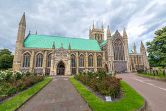 English parish church in Great Yarmouth in England. English parish church in Great Yarmouth - Built Structure, Church, East Anglia, England, Great Yarmouth Royalty Free Stock Image