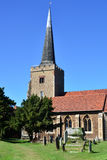 English Parish Church Stock Photo