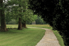 English Park in Chantilly Royalty Free Stock Photo
